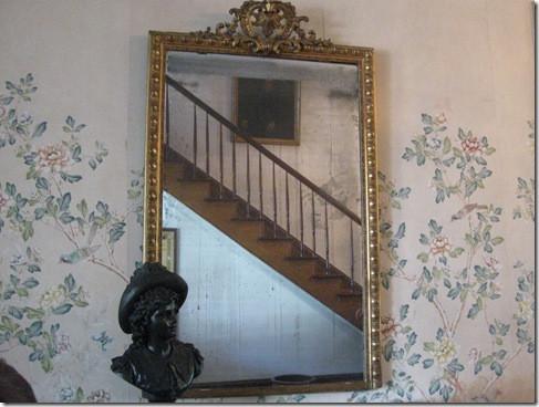 Espejo de Myrtles Plantation. Foto de Archivo.