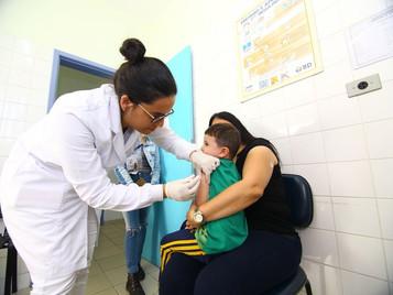 Campanha de vacinação contra o sarampo começa nessa segunda, 7 de outubro, em São José dos Campos