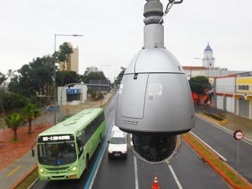 São José dos Campos ganha mais 20 câmeras do COI