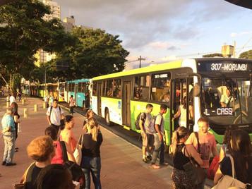 Alvo de disputa judicial, reajuste da passagem de ônibus é suspenso em São José