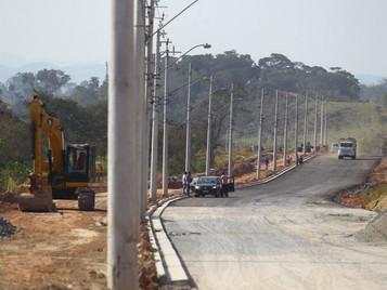 Via Cambuí já ultrapassa 75% de obras executadas