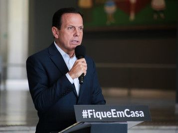 Doria anuncia prorrogação da quarentena até 31 de maio em todo estado de SP