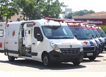 Prefeitura de São José dos Campos investe R$ 958 mil na compra de 6 novas ambulâncias
