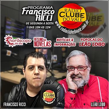 PROGRAMA FRANCISCO RICCI COM LEAO LOBO 2
