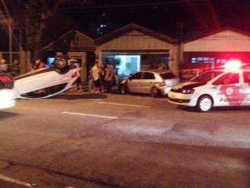Acidente deixa dois homens feridos na zona norte de São José dos Campos