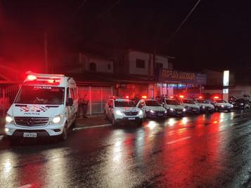 Com reforço, GCM evita fluxo e garante sossego à população de São José dos Campos