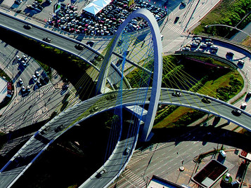Ponte estaiada vai ser construída sobre rotatória do Colinas em São José