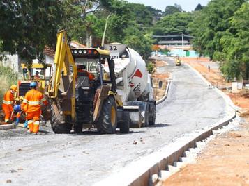 Obra da Via Esplanada altera trânsito na região oeste de São José dos Campos
