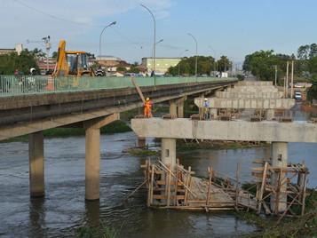 Trânsito na ponte Maria Peregrina será interrompido das 22h às 6h durante 15 dias