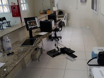 Dupla agride funcionários e depreda posto de saúde na zona sul de São José dos Campos