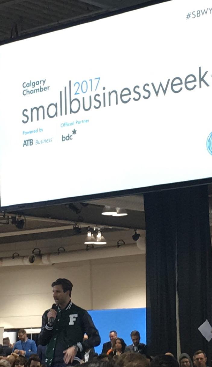 Matthew Corrin, CEO Freshii, speaking about his journey