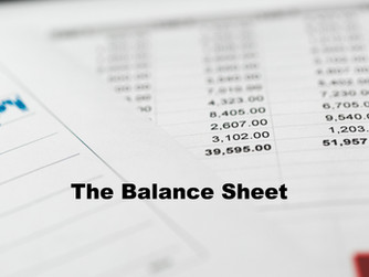 The Balance Sheet: How to Quickly Analyse the Strength of Your Business