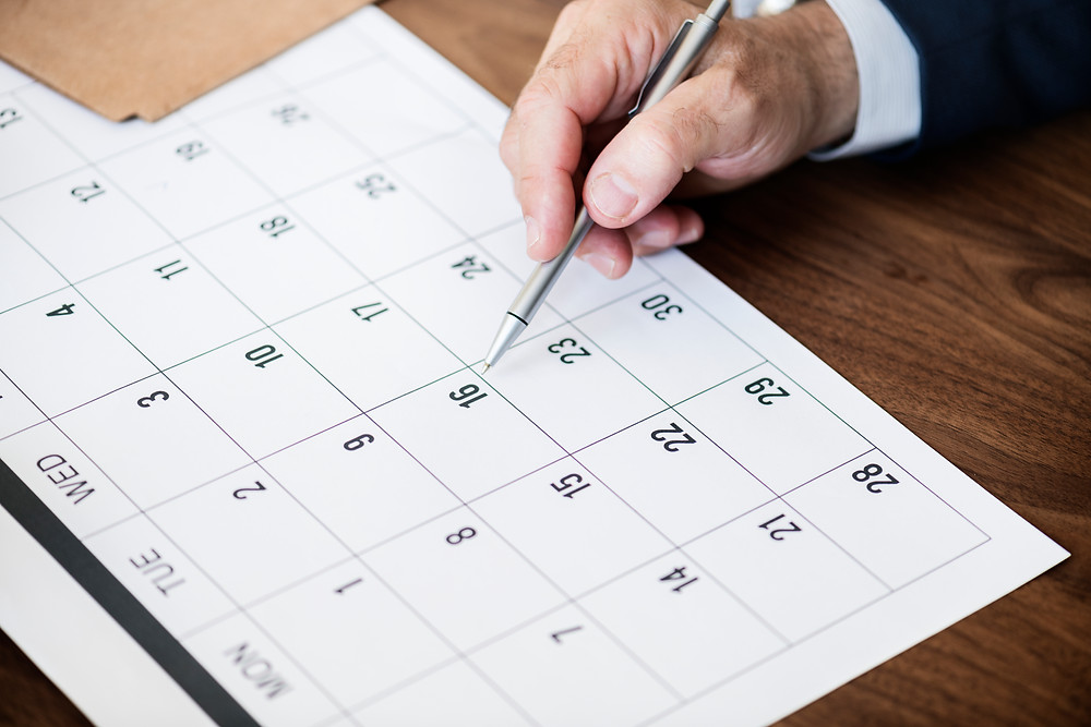 Calendar Days Sales