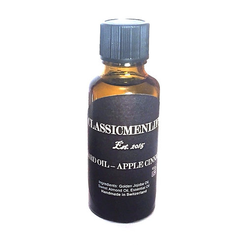 BEARD OIL APPLE CINNAMON 30ml (1 oz)