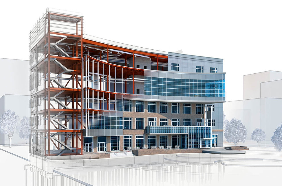 Commercial Building Structure