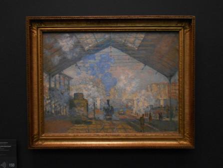 La Gare Saint-Lazare by Claude Monet, 1877, Musée d'Orsay, Paris – Analysis – Podcast