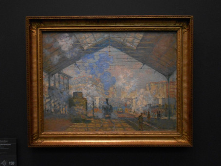 La Gare Saint-Lazare by Claude Monet, 1877, Musée d'Orsay, Paris – Analysis – Podcast