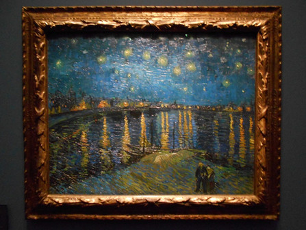 Starry Night Over The Rhone by Vincent Van Gogh, Musée d'Orsay, Paris - Analysis - Podcast