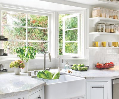 How to maintain order in the kitchen after cleaning?