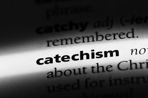 catechism word in a dictionary. catechis