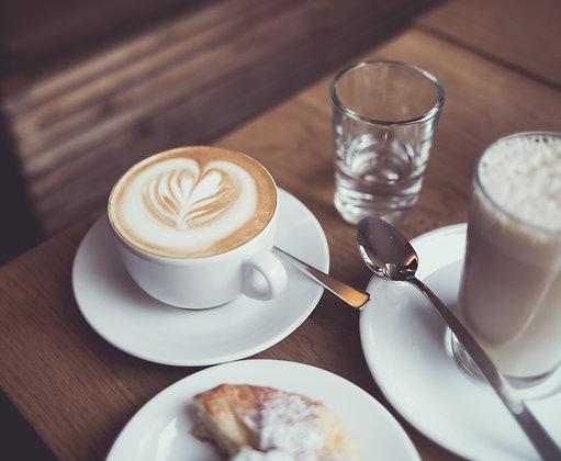 Treat Cinna to Coffee