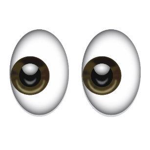 Closeup of Eyes/Cinna's Face Custom Photo Snap