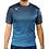 Legea Breda Football Shirt Navy/Light Blue Fluro