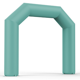 Inflatable event arches