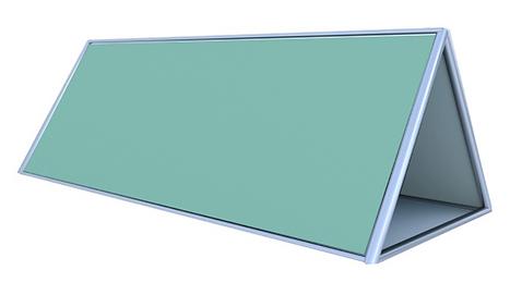 Framed pop-up a-frame