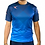 Legea Breda Football Shirt Navy/Turquoise Fluro