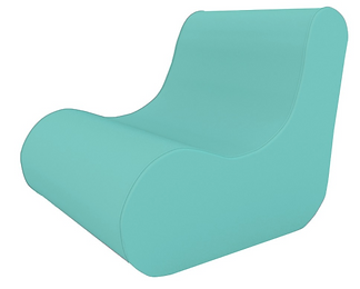 Branded inflatable chair