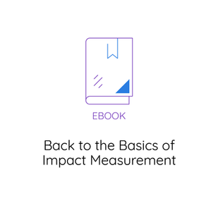Back to the Basics of Impact Measurement