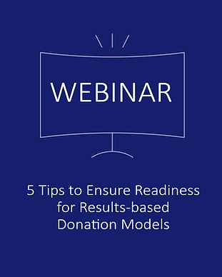 Results-based Donation Model Webinar Web
