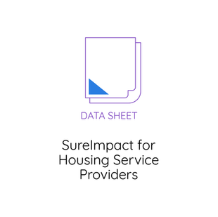 SureImpact for Housing Service Providers