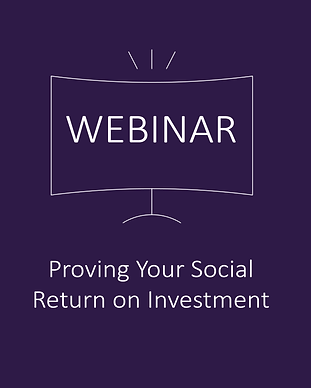 Proving Your Social Return on Investment