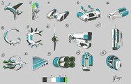 SpaceShip Iterations