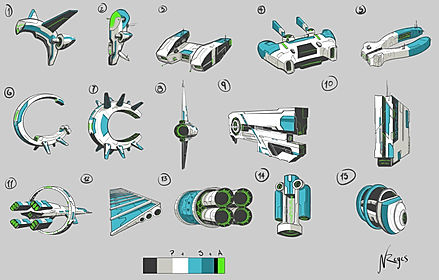 SpaceShip Iterations