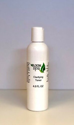 BloomSpa Clarifying Toner 4.0 oz Acne/Oily skin Treatment
