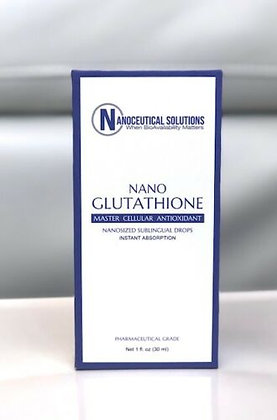 Nanoceutical Solutions Nano Glutathione Sublingual Drops 1 FL. OZ 30 ML