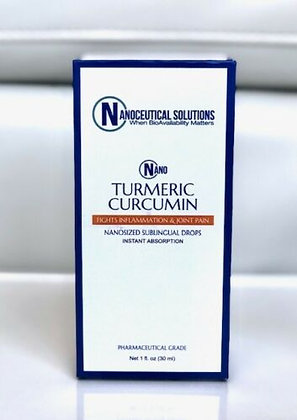 Nanoceutical Solutions Nano Turmeric Curcumin Sublingual Drops 1 FL. OZ 30 ML