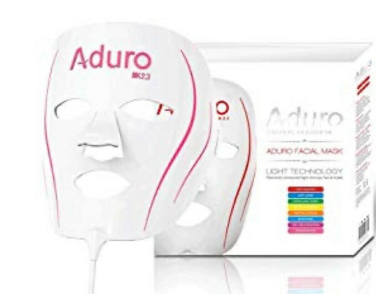 7 colors plus IR LED Light Skin Rejuvenation portable Aduro Face Mask.