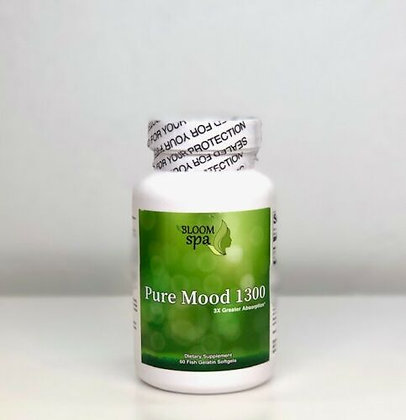 Bloom Spa Pure Mood 1300 Fish Oil 60ct Softgels