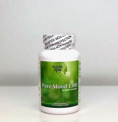 Bloom Spa Pure Mood 1300 Fish Oil 60ct Softgels