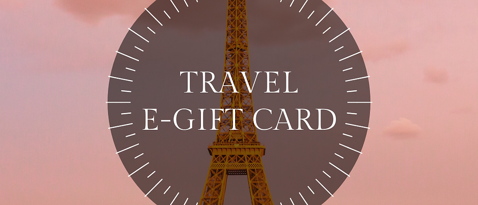 Travel e-Gift Card