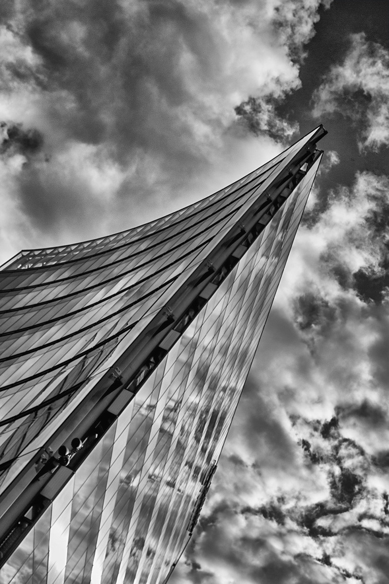 MONO - The Sony Centre by Derek Brown (9 marks)
