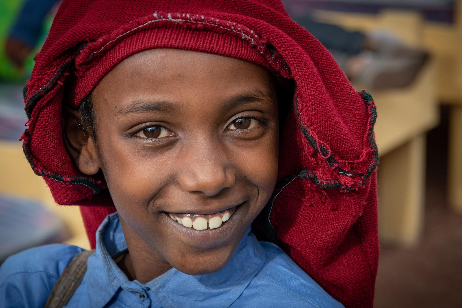 COLOUR - An Ethiopian Smile by Mark Jones (13 marks) - Starred
