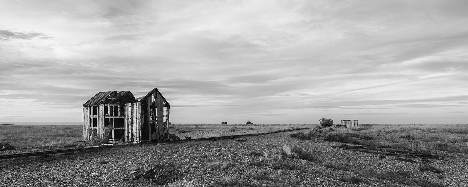 MONO - Desolate (Dungeness) by Pete Irvine (10.5 marks)