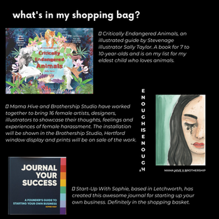 what is in my shopping bag