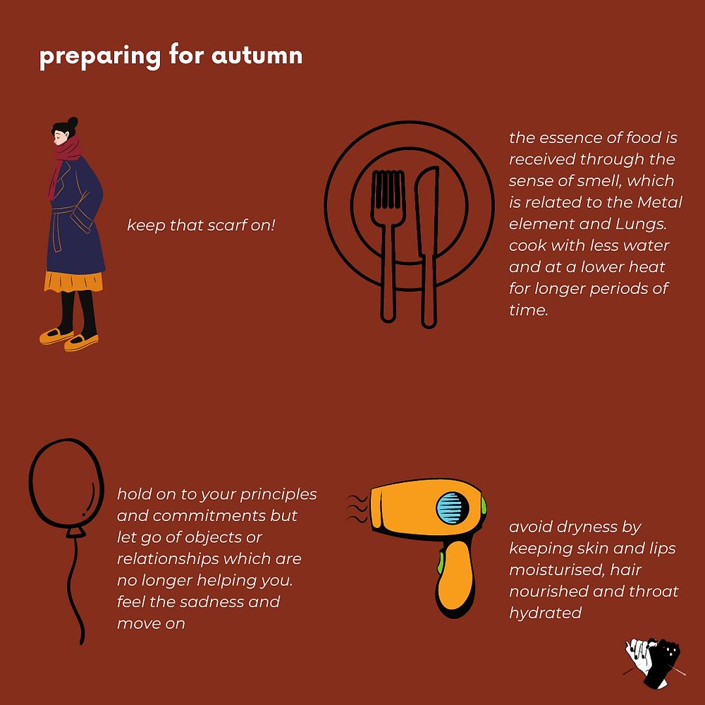 Preparing for Autumn in Chinese Medicine