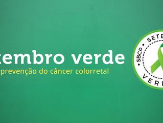 Setembro verde- mês de prevenção do câncer colorretal